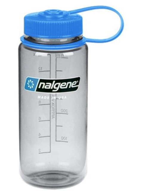 Nalgene 0,5L Wide Mouth Bottle Gray Tritan (9016)